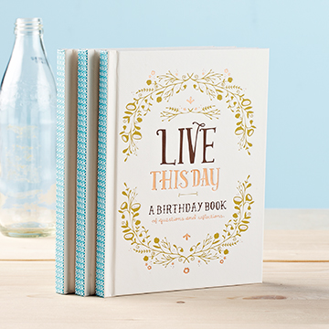 Live This Day (Birthday Book) - Gift Book