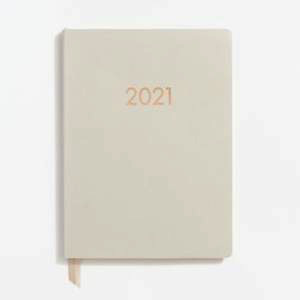 2020-2021 Chicago Ave-Stone Large WEEKLY Planner