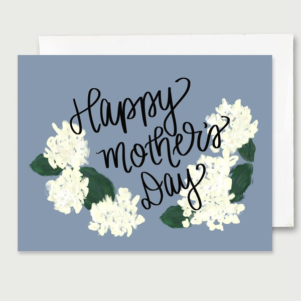 Happy Mother's Day White Floral