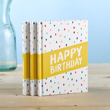 Happy Birthday - Gift Book