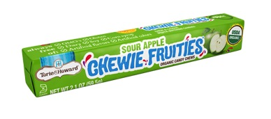 Torie & Howard Fruit SOUR Chew Stick Packs - Sour Apple