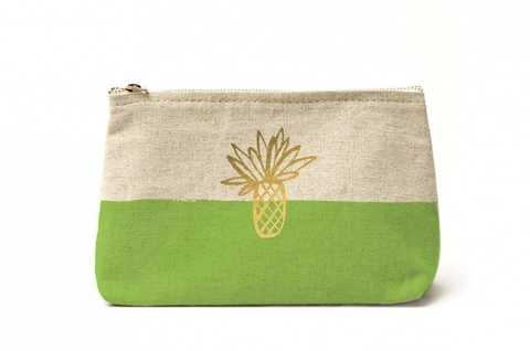 Canvas Clutch - Havana Palm
