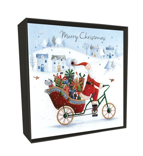 CHRISTMAS CARD BOX SET – SANTA