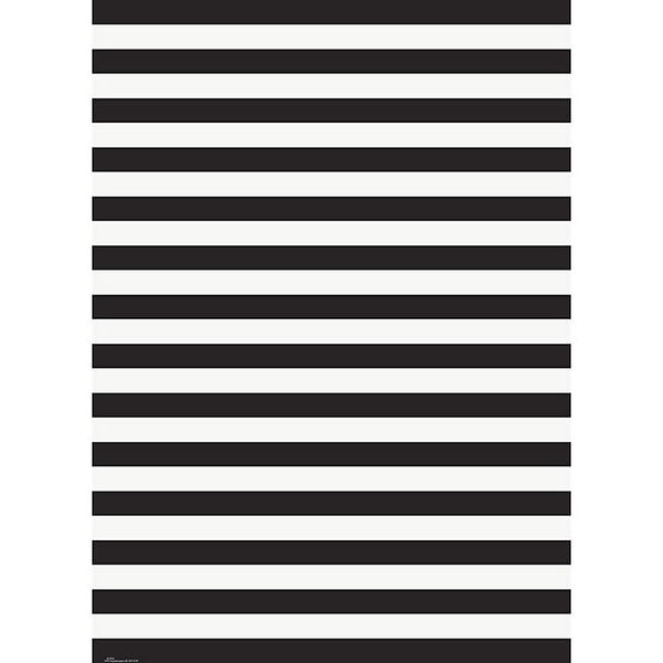 Wrap Roll - Black & White Stripes