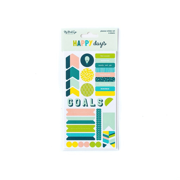 Happy Days Planner Sticker Set