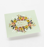 Boxed set of Easter Garden cards  - set of 10 cards