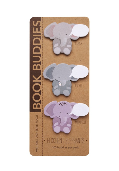 Book Buddies - Eloquent Elephants