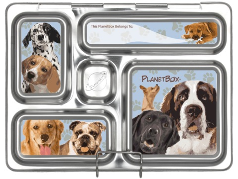 Rover Lunchbox Magnets - Doggies