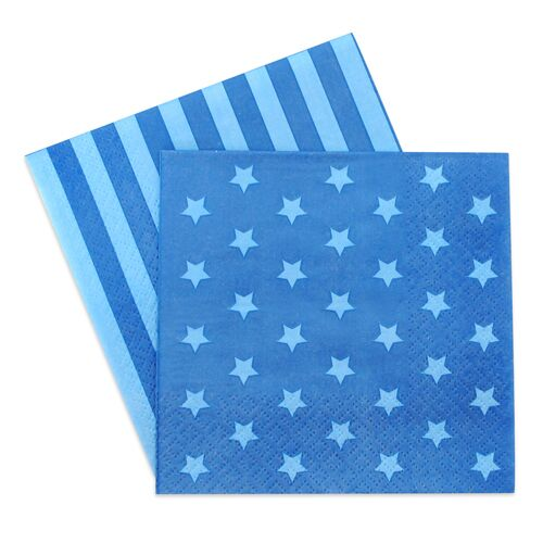 Napkins - Blue Star