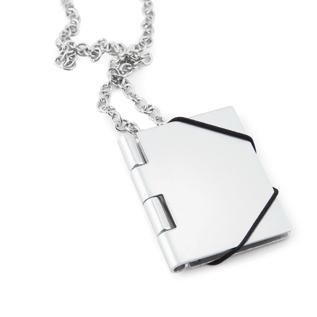 Necklace Book - Silver