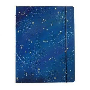 2021 Jumbo Booklet-Night Sky Monthly Planner