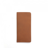 Leather Eye Glass Case - camel