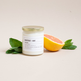 Grapefruit + Mint Soy Wax Candle
