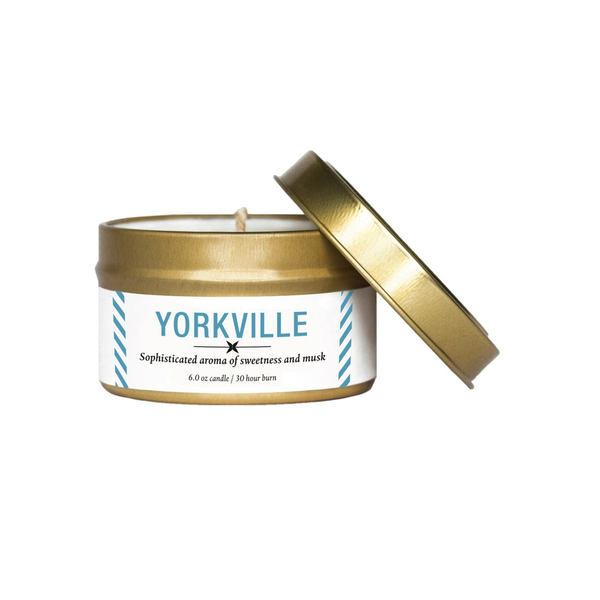 Vancouver Travel Tin Candle: Yorkville