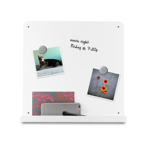 8x8 Magnetic White Dry-Erase J-Board