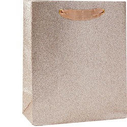 Champagne Glitter Medium Bag