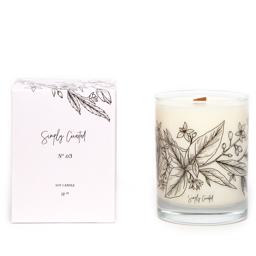 Botanical Collection Candle - No. 03