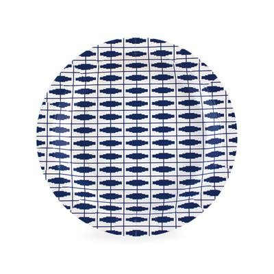 Dessert Plate - Naut So Navy