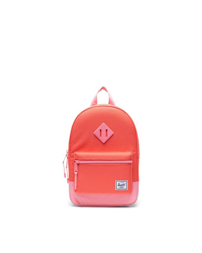 Heritage Backpack | Kids - Hot Coral/Flamingo Pink