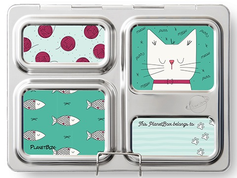 Launch Lunchbox Magnets - Cats