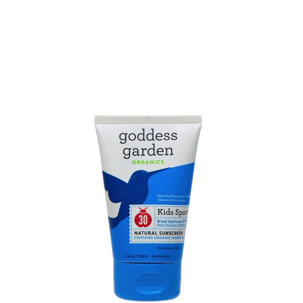 Goddess Garden - Kid's Sport Natural Sunscreen SPF 30 Tube