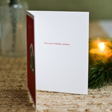 """Every heart comes home for the holidays"" - Dan Zadra Card"
