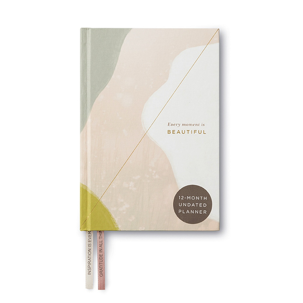 12 month Planner - Every moment is Beautiful