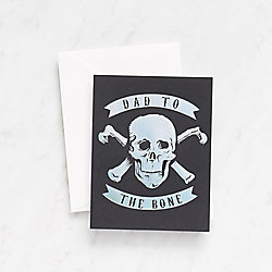 Dad To the Bone Father's Day Card