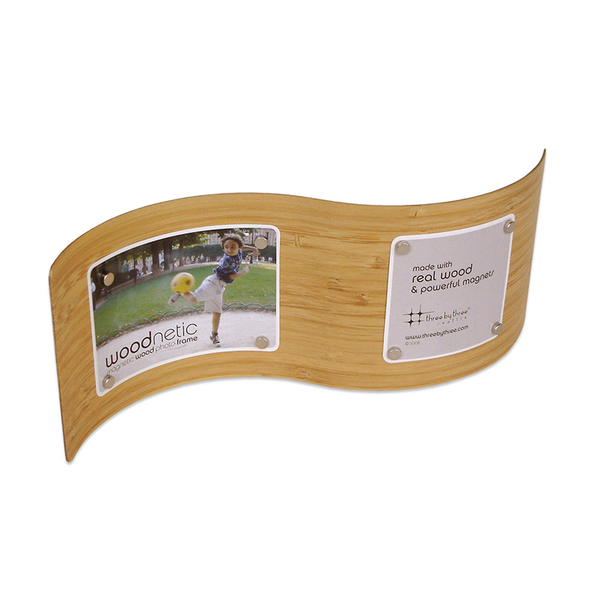 Woodnetic Frame - S-curve Bamboo