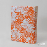 Wrap Sheet - Mums, Orange