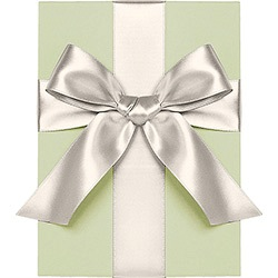 Ivory Satin Ribbon 1/4""