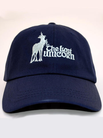 The Last Unicorn Movie Embroidered Baseball Hat