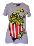 Deadly Popcorn Tee by NewBreed Girl