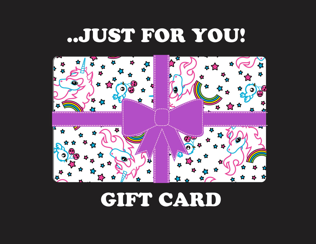 A GIFT CARD JUST FOR YOU!