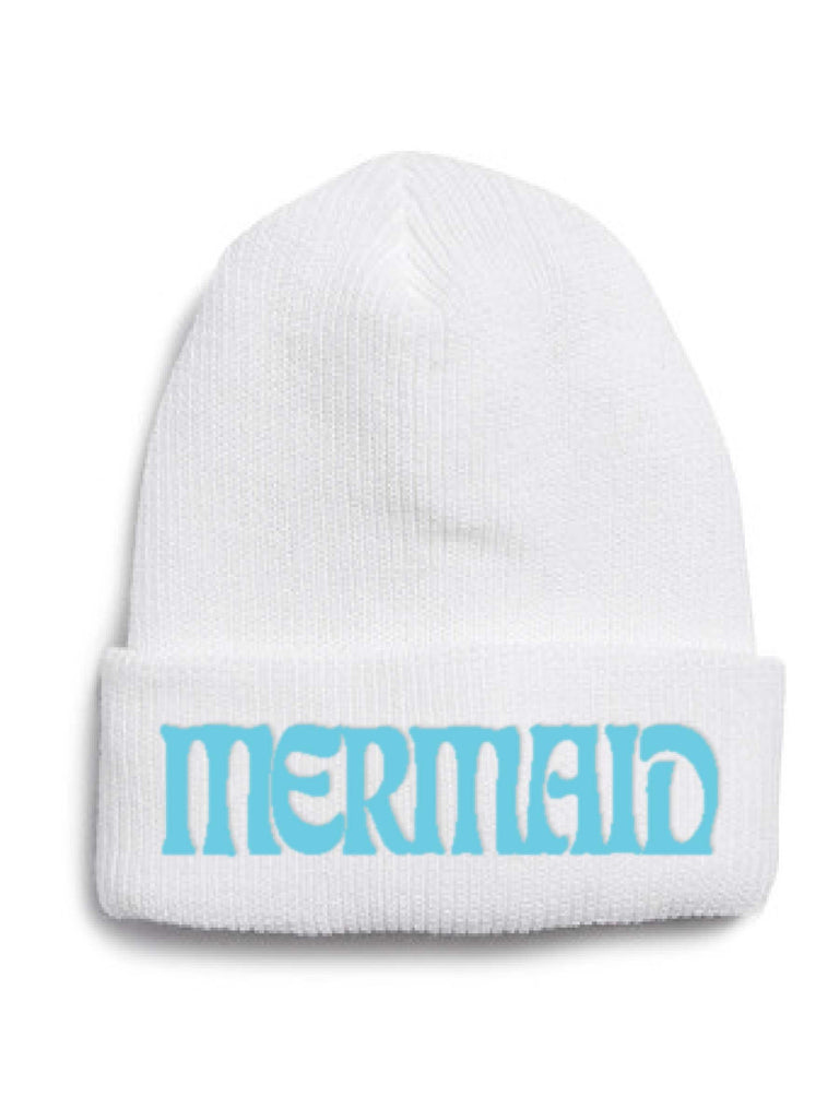 Pop Embroidered Mermaid beanie