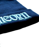 The Last Unicorn 3D Pop Embroidered Beanie, Navy