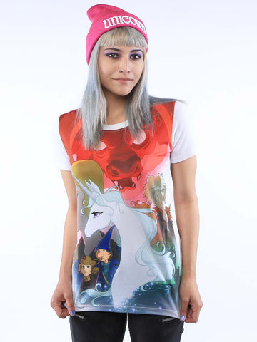 The Last Unicorn Poster Tee