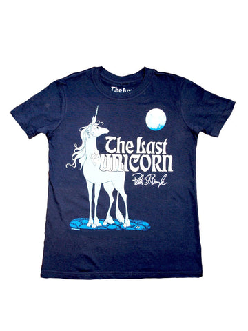 THE LAST UNICORN Signature Tee: Kids Size