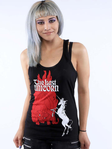 THE LAST UNICORN Retro Poster Tunic Tank