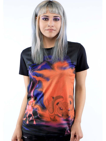 The Last Unicorn Stand Off Tee