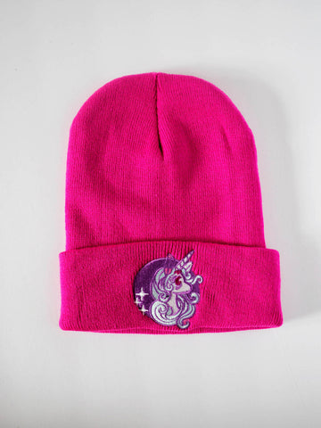 NewBreed Embroidered STARLIGHT Unicorn Beanie