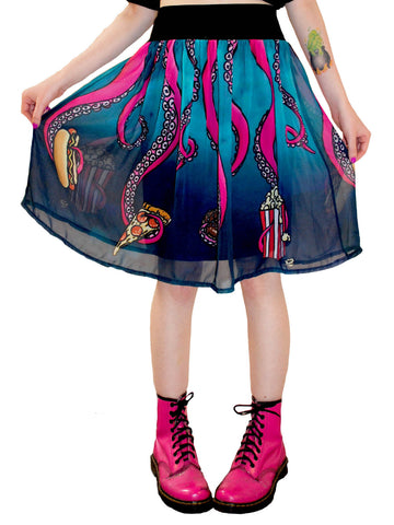 NewBreed Octopus Sea Punk Ballerina Skirt