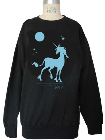 THE LAST UNICORN: We Live Forever Fleece Pull-On