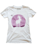 THE LAST UNICORN Moon Song T-Shirt: Ladies Fit