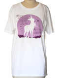 THE LAST UNICORN Moon Song T-Shirt: Unisex