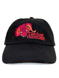 The Last Unicorn Embroidered Red Bull Baseball Hat