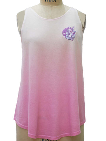 NewBreed Embroidered STARLIGHT Unicorn Flutter Tank: Premium Collection