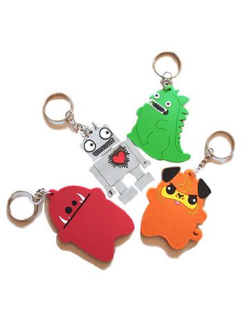 NewBreed Collectible Character Key Chain Accessories!