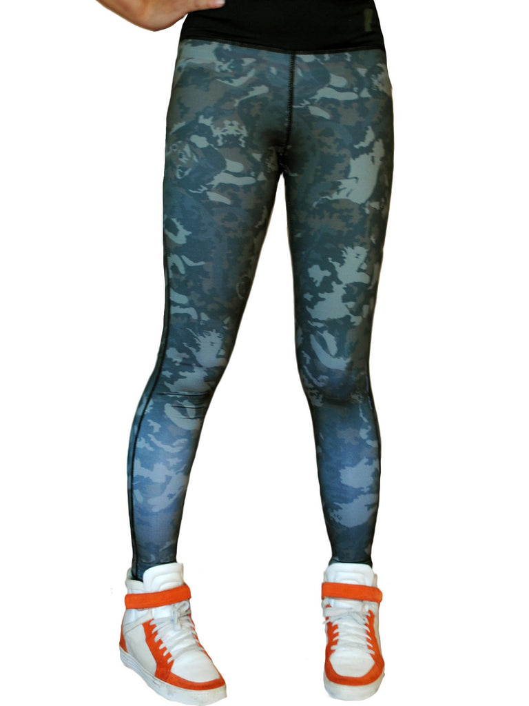 NewBreed x Iron Fist Kitty Camo Work-Out Pant