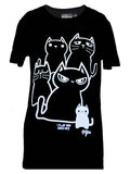 Stacked Cats Tee By NewBreed Girl